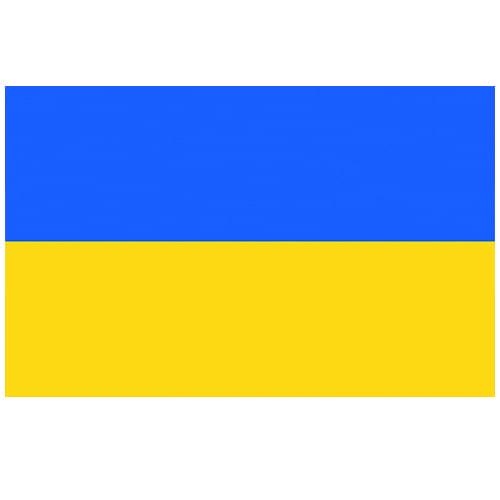 Vlag Oekraïne 100 x 150cm