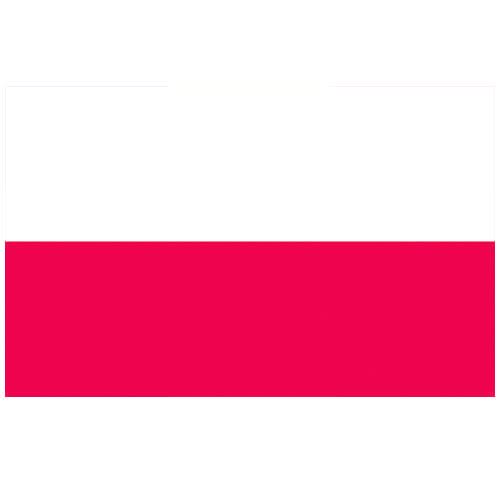 Vlag Polen 100 x 150cm