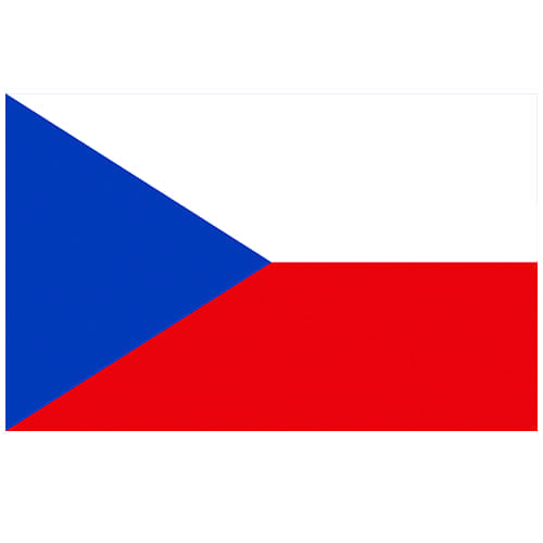 Vlag Tsjechië 100 x 150cm