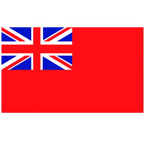 Vlag Verenigd Koninkrijk 100 x 150cm koopvaardij
