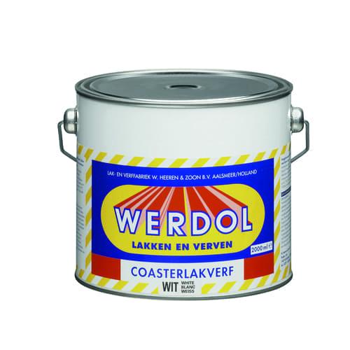 Werdol coasterlakverf 2ltr