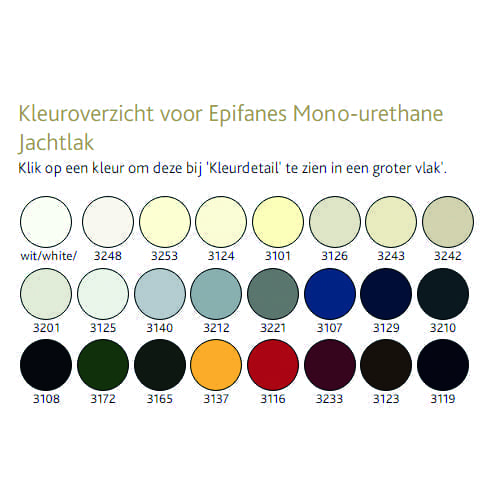 Epifanes mono-urethane 750ml
