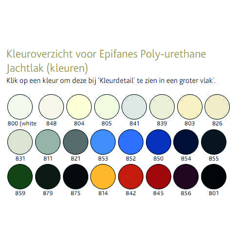 Epifanes poly-urethane 750ml