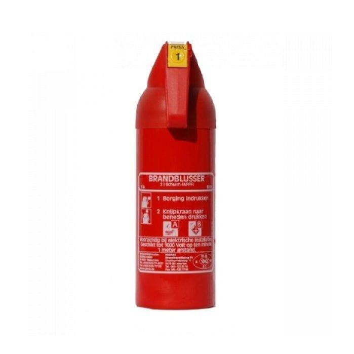 Brandblusser Gloria schuim 2 liter
